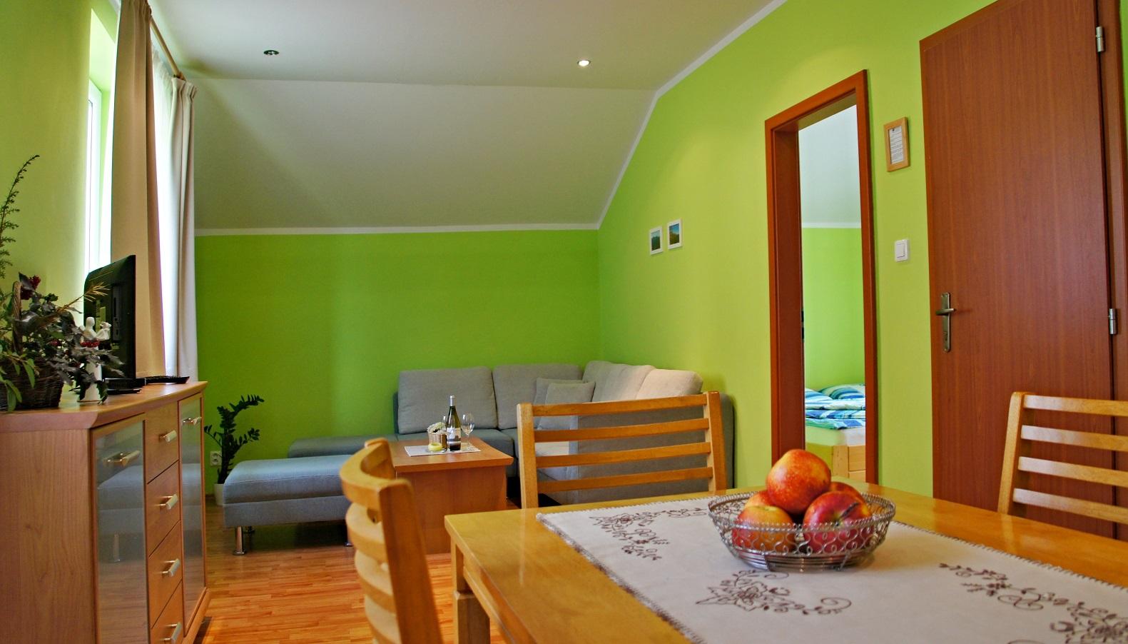 Apartmán (obývačka)